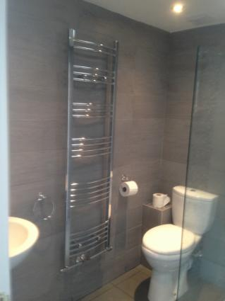 New wet room